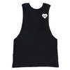 BOY MEETS GIRL® for GLAM4GOOD Black Drop Armhole Tank Top
