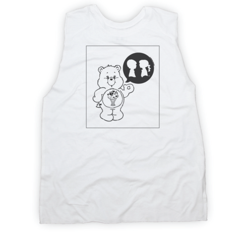 Boy Meets Girl x Care Bears Anniversary Muscle Tank