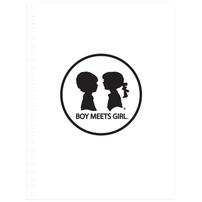 BOY MEETS GIRL® Journal Notebook
