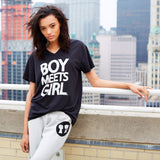 Boy Meets Girl Tee (V-Neck)