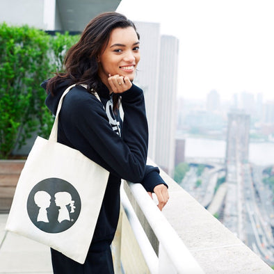Full Circle Logo Tote