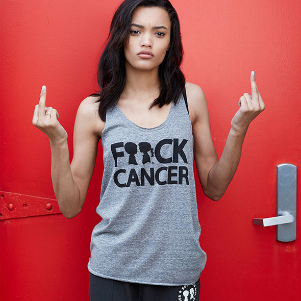 BOY MEETS GIRL® F**ck Cancer Tank Top