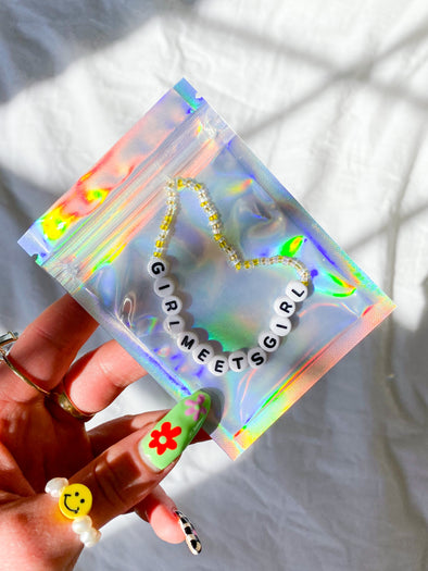 2021 BOY MEETS GIRL® x MERM MADE: Girl Meets Girl Bracelet