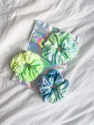 2021 BOY MEETS GIRL® x MERM MADE: New York Tough Scrunchie Set