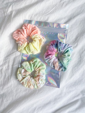 2021 BOY MEETS GIRL® x MERM MADE: Together We Stand Scrunchie Set
