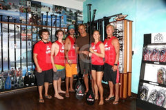 "Laird Hamilton stops by Tarsan for ""Laird's StandUp Wednesdays"""