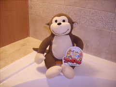 ZooPoo Monkey filled with 8oz of tear free Jelly Bean ZooPoo Kids Shampoo!
