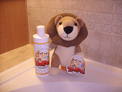 Full ZooPoo Lion + 12oz Refill of ZooPoo Kids Shampoo
