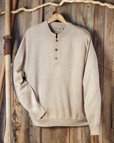 Men's Alpaca - Silk Crewneck Sweater