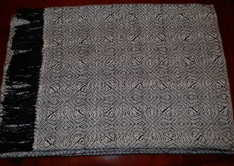 Geometric design throw