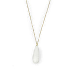 Float droplet necklace