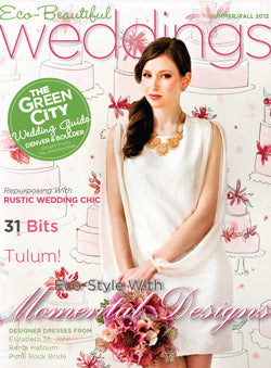 eco-beautiful wedding magazine