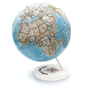 Personalized and Engraved Corporate Logo Push Pin Globe by Wendy Gold