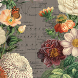 Flora and Fauna Vintage Map Art Canvas