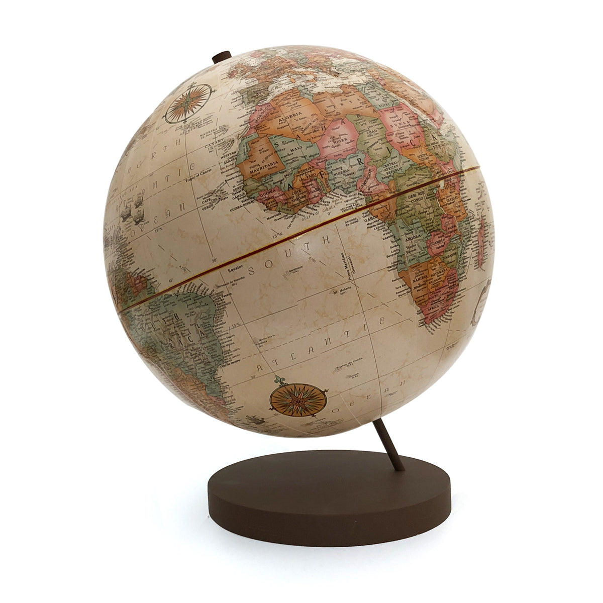 Axis 12 Inch Antique World Globe