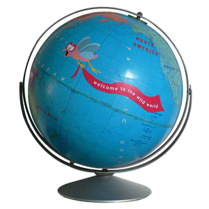 Kids World Globe Art by Wendy Gold