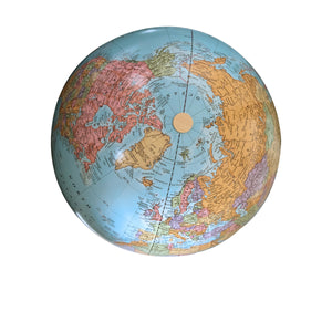 9 Inch Personalized Engraved World Adventurer Desk Globe