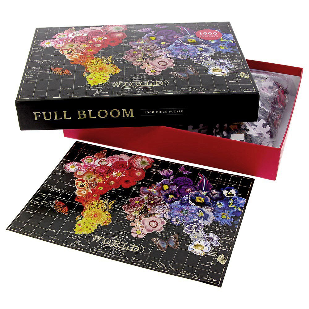 Full Bloom 1000 Piece Puzzle by Wendy Gold