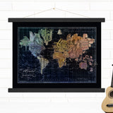 Music Instruments World Hanging Map Art Wendy Gold