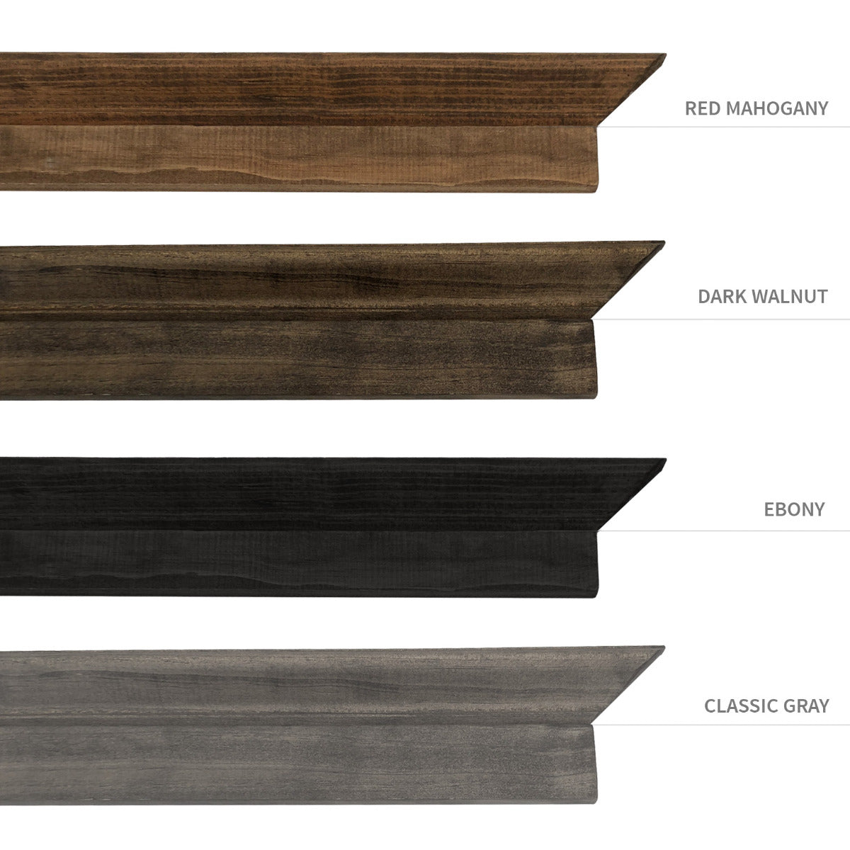 Wood Bound Canvas Color Choices