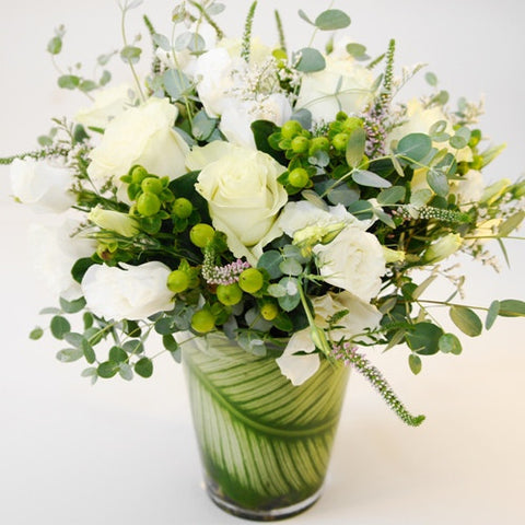 Classic Whites Flower Bouquet