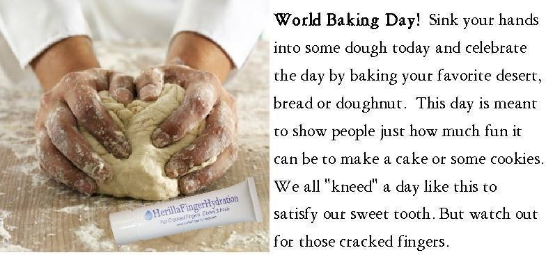 It's World Baking Day!