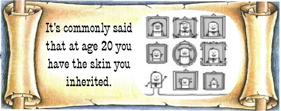 inherited skin