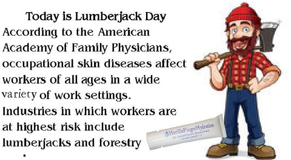 National Lumberjack Day