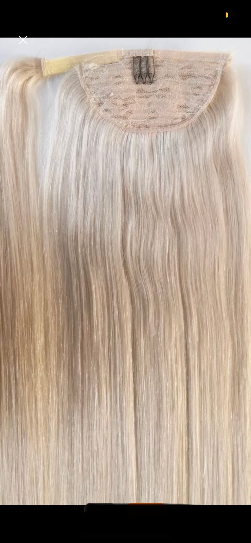 Premium Human Hair Ponytail