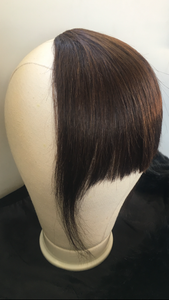 Human Hair fringe piece