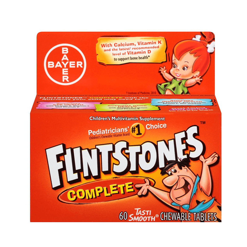 Flintstones Complete Children's Multivitamin 60 Tablets