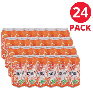 Golden Circle Orange Fruit Juice 375mL Can (24 Pack)