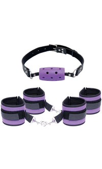 Fetish Fantasy Purple Pleasuare Set