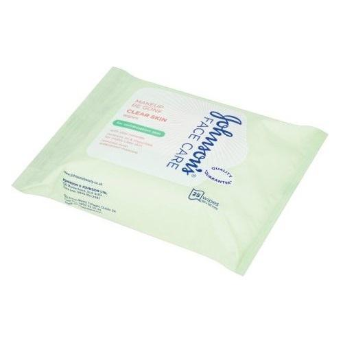 Johnsons Face Care Clear Skin Wipes