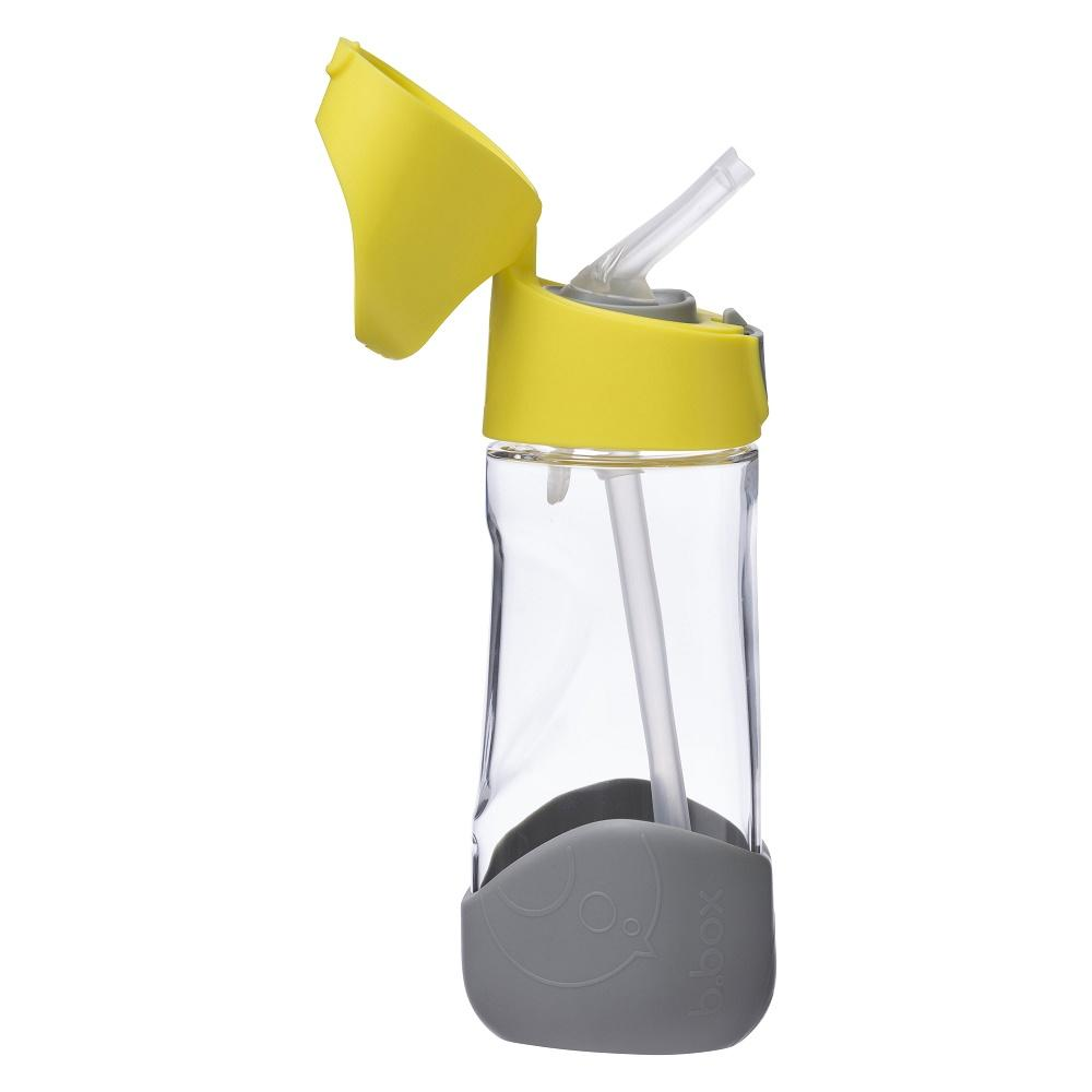 b.box Tritan Drink Bottle 450mL Lemon Sherbet