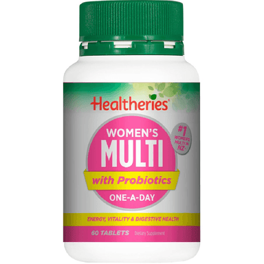 Healtheries Women's Multi with Probiotics One-A-Day - 60 Tablets