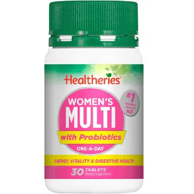 Healtheries Women's Multi with Probiotics One-A-Day - 30 Tablets
