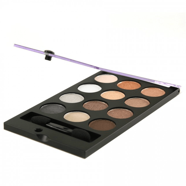 City Color Smokey Nudes Eyeshadow Palette