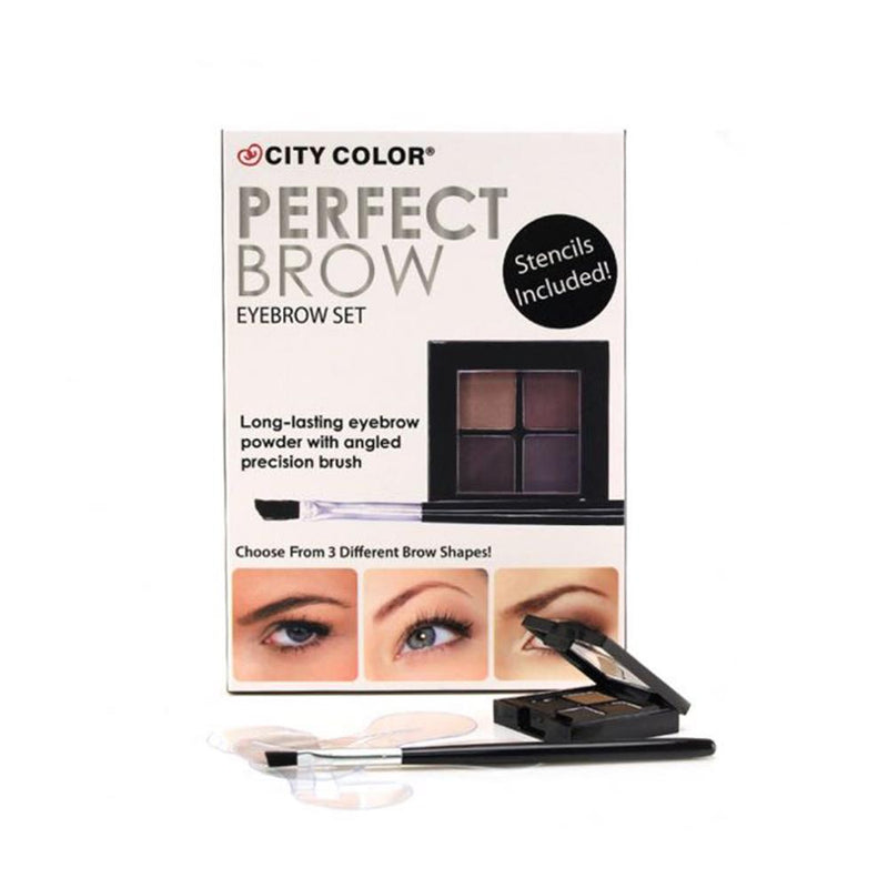 City Color Perfect Brow Eyebrow Set