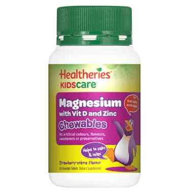 Healtheries KidsCare Magnesium - 60 Chewable Tablets