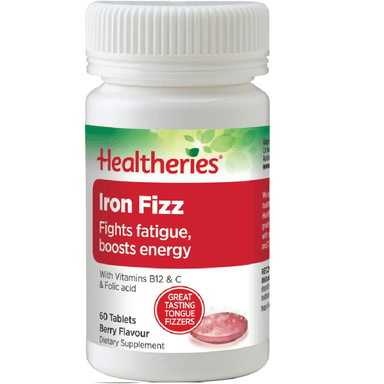 Healtheries Iron Fizz - 60 Tablets