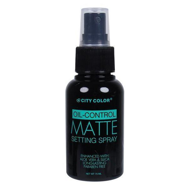 City Color Oil-Control Matte Setting Spray