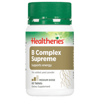 Healtheries B Complex Supreme - 60 Tablets