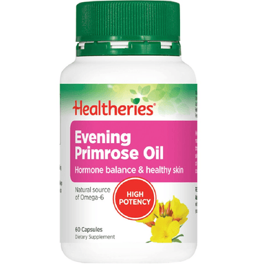 Healtheries Evening Primrose Oil 1000mg - 60 Capsules