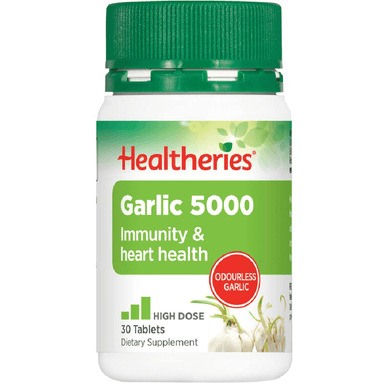 Healtheries Garlic 5000 - 30 Tablets