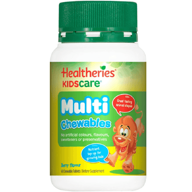 Healtheries KidsCare Multi - 60 Chewable Tablets