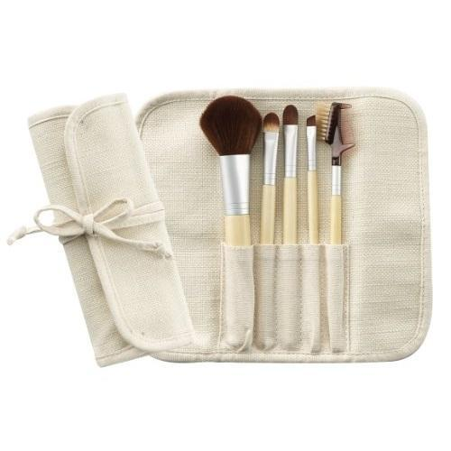 Cala Naturale 5 Piece Bamboo Brush Set