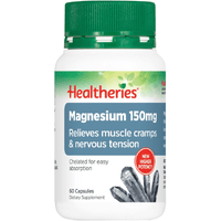 Healtheries Magnesium 150mg - 60 Capsules