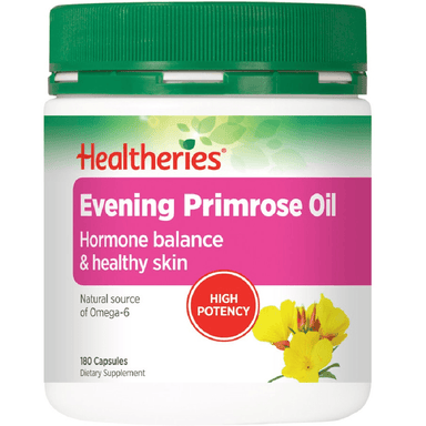 Healtheries Evening Primrose Oil 1000mg - 180 Capsules