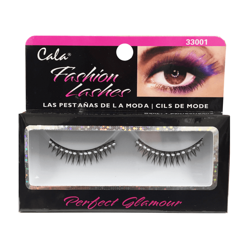 Cala Fashion Lashes with Clear Stone